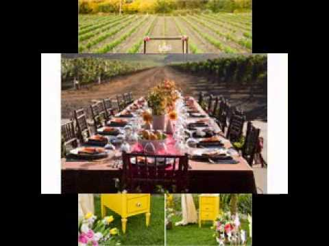 Do-it-yourself Vineyard wedding suggestions