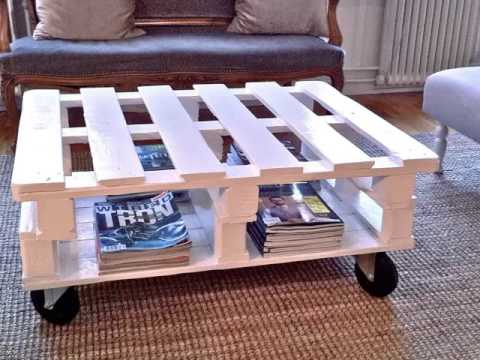 Do-it-yourself Pallet Coffee Table | Photographs Of Pallet Furnishings Do-it-yourself Collection Romance