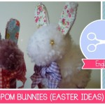 How to make a Bunny with Pom Poms (EASTER crafting ideas) – DIY easy Tutorial by Fantasvale