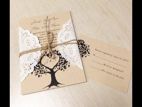 Distinctive do it yourself wedding invitation strategies