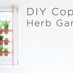 Diy Copper Herb Backyard