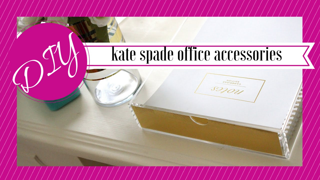 Diy | Kate Spade Motivated Desk Add-ons