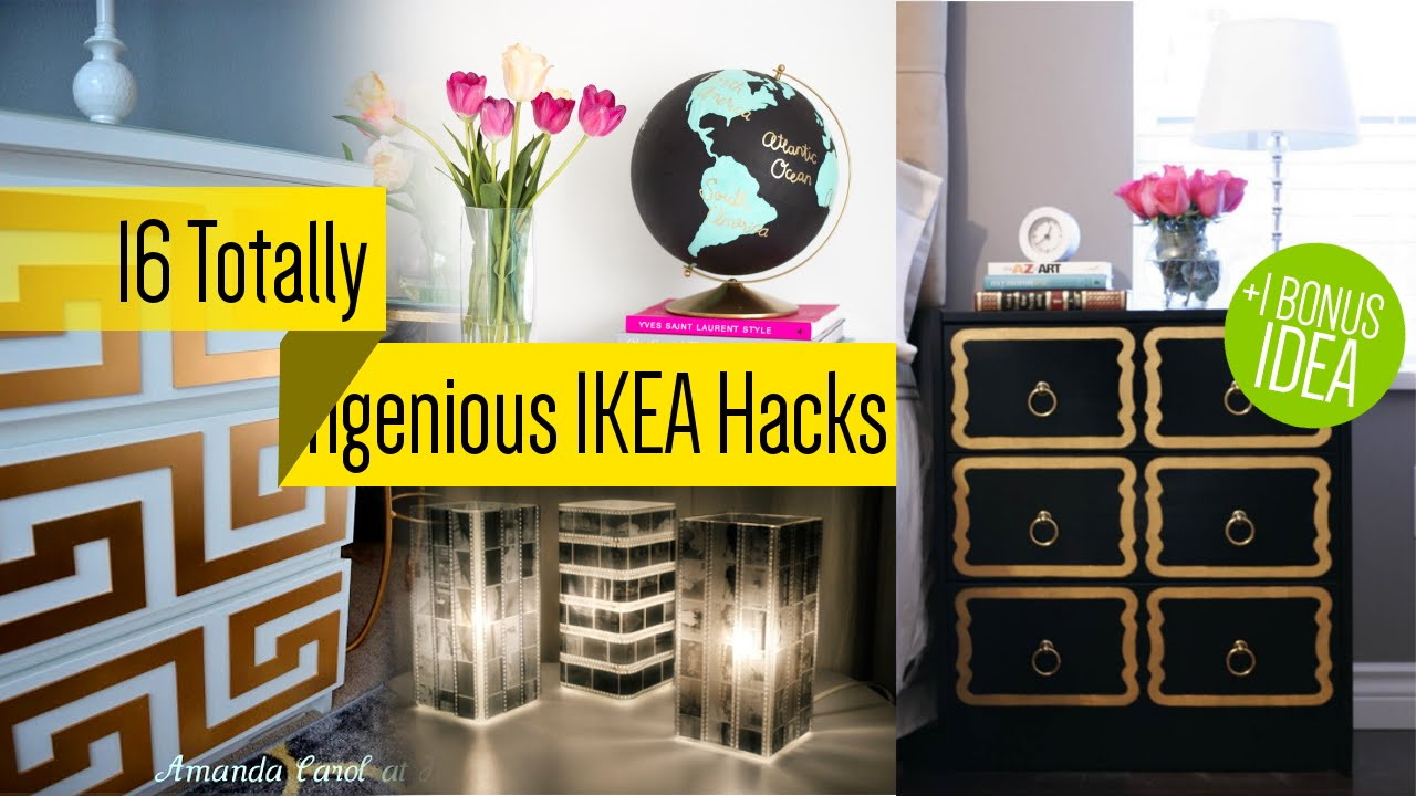 sixteen IKEA Household furniture Makeover