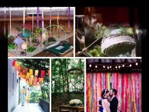 Diy easy marriage ceremony reception decoration tips