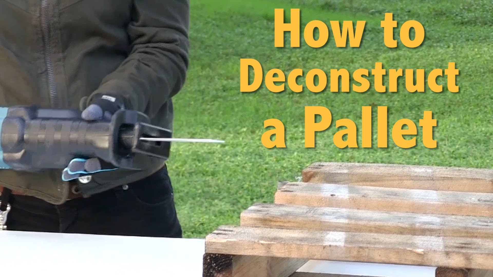 How To Deconstruct A Pallet for Pallet Furniture and Pallet Crafts