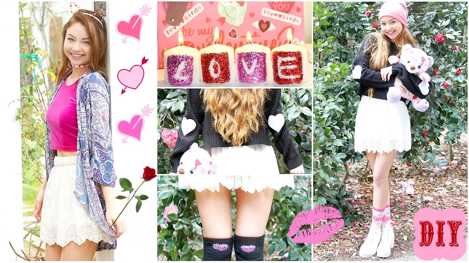 Diy Valentine's Working day: Hair Equipment, Outfits, Decor & much more!