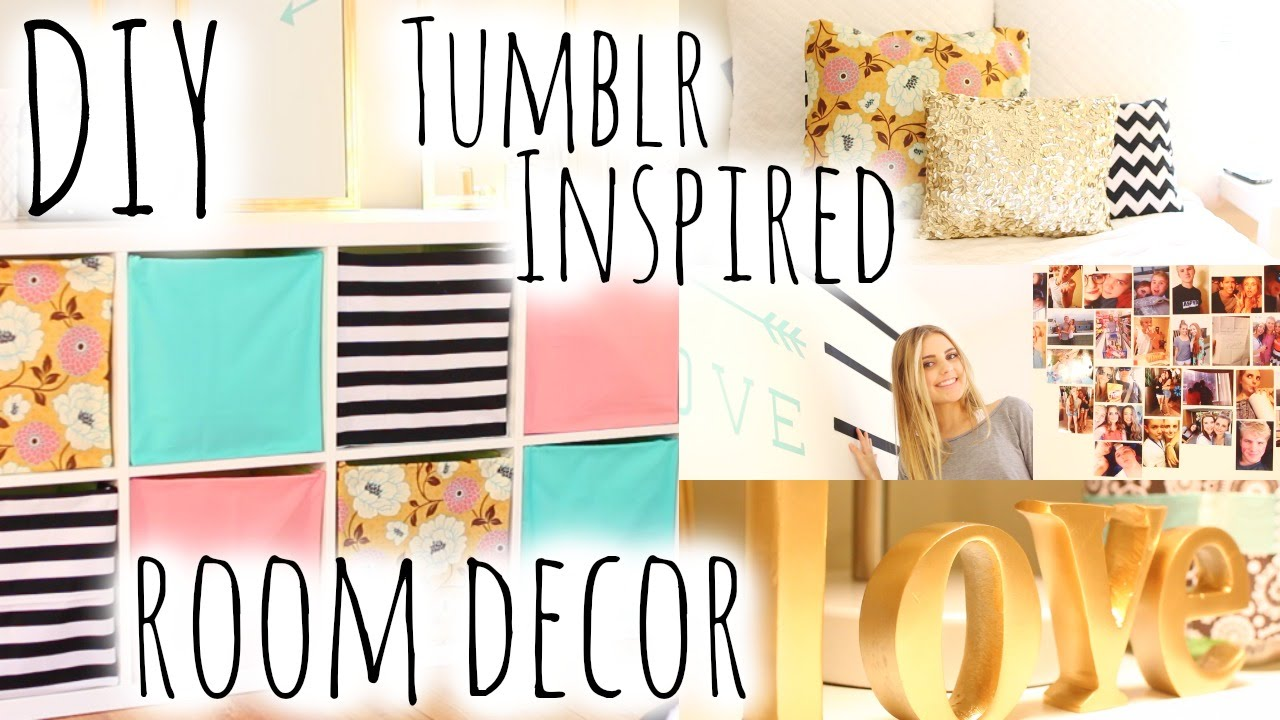 Do it yourself Area Decor & Firm Encouraged by Tumblr! | Aspyn Ovard