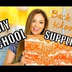 Back To University: five Adorable + Easy Do it yourself University Provides + Street Excursion Update!