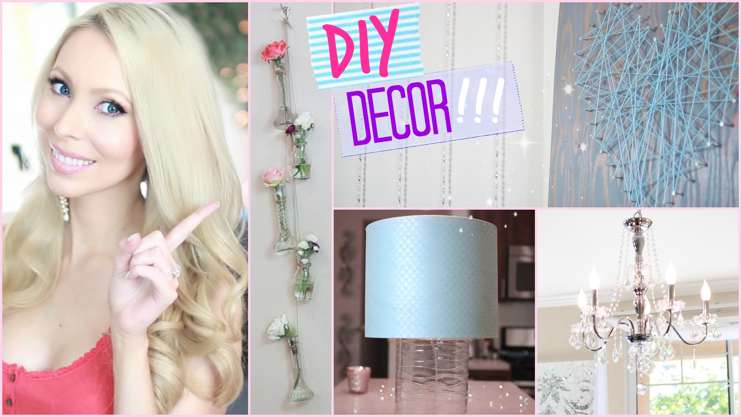 Do it yourself Area Decor + Decorating Tips! ♡ Collab with MissLizHeart