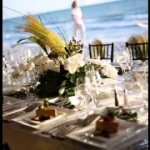 Diy Beach front wedding ceremony reception decorating tips