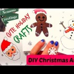 Cute Holiday DIY Video – Crafting Christmas Cards
