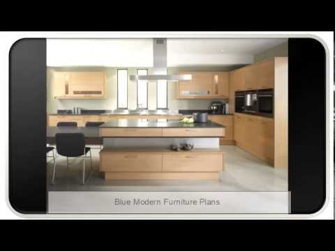 Blue Modern-day Furnishings Plans
