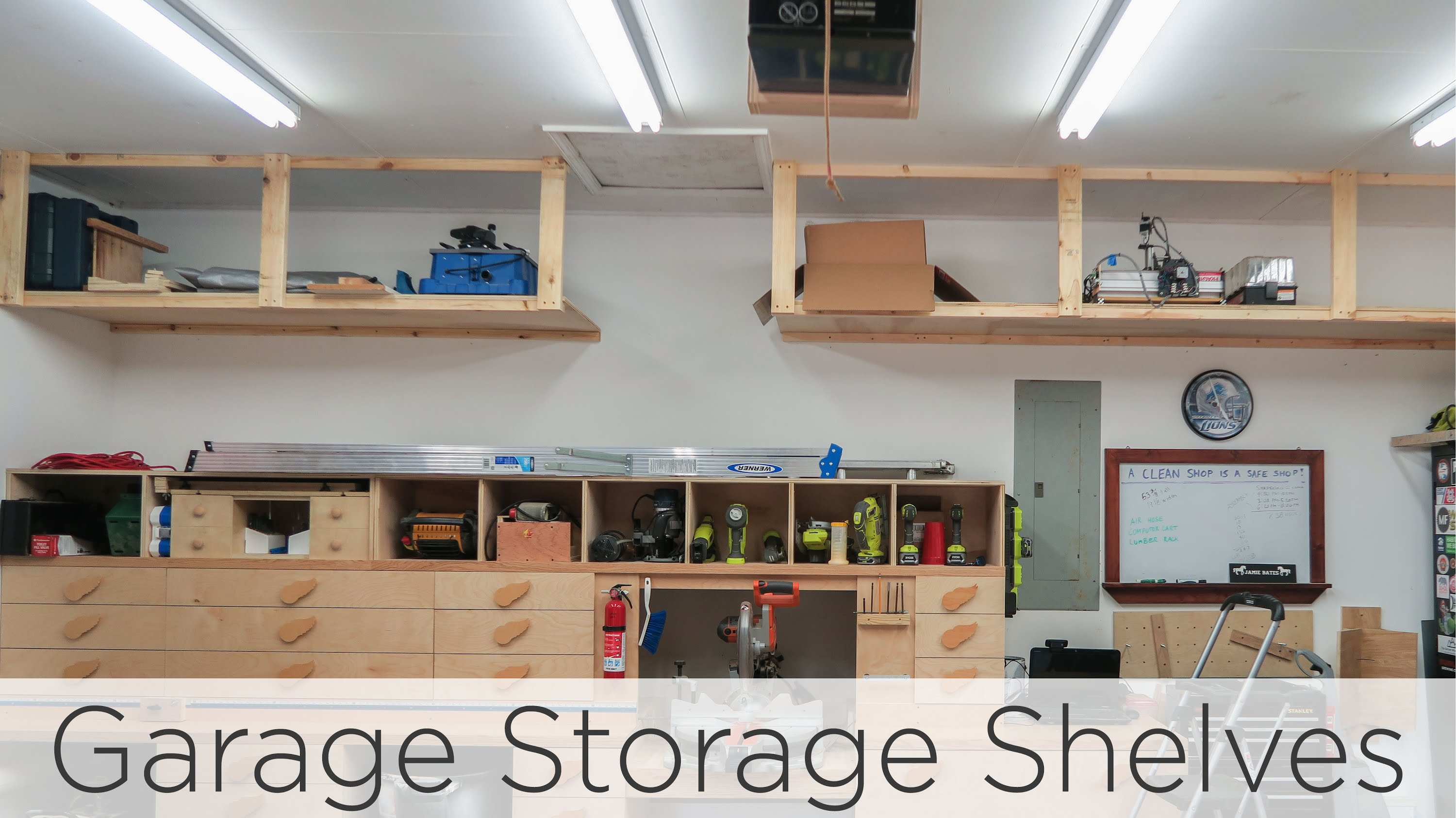 Squandered House Garage Storage Shelves – 202