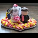 Do-it-yourself Marriage Cake Ideas