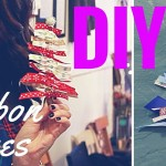 DIY Handmade Ornaments- Holiday Ribbon Trees- Crafting Under The Influence LIVE