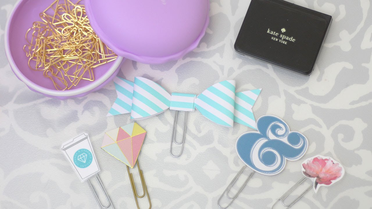 How to Make Easy DIY Planner Clips, Bows & Accessories