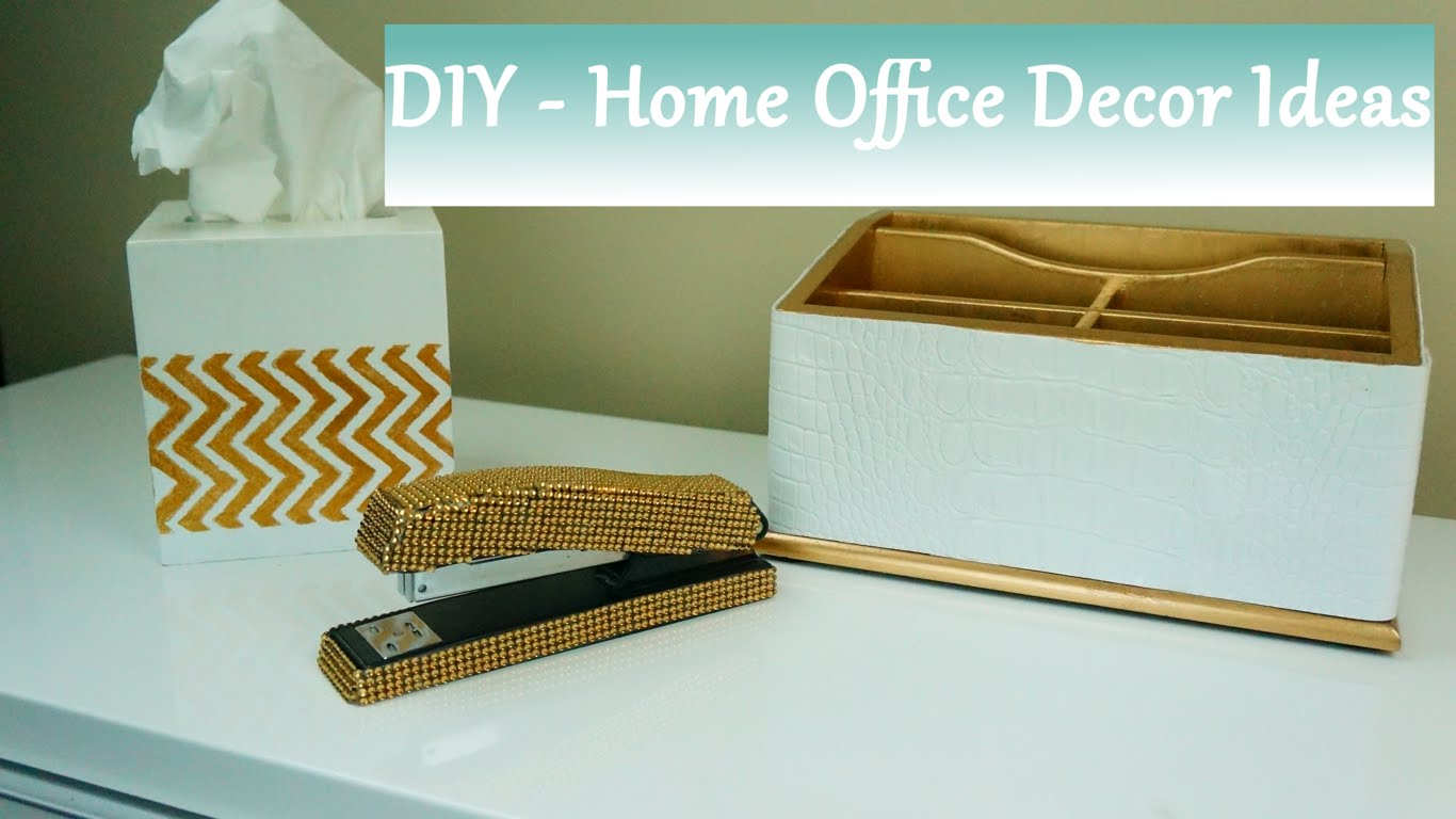 DIY: Home Office Accessories Ideas