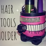 DIY Hair Tools/Accessories Holder