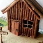 How To Make A Miniature Wood Cabin – Diy Crafts Tutorial – Guidecentral