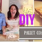 DIY Pallet Coasters Using Popsicle Sticks- Crafting Under The Influence- Episode 4