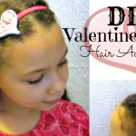 DIY Valentine's Day Hair Accessories