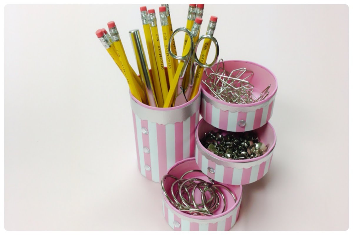 Tin Can Craft Caddy
