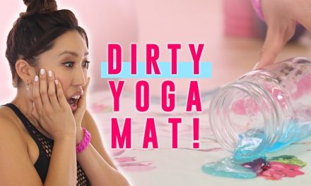 Dirty Yoga Mat? Here's How to Clean It… TUTORIAL