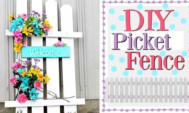 🌼🌼 DIY Spring Porch Decor | Picket Fence Decor | Spring Wood Crafts 🌼🌼
