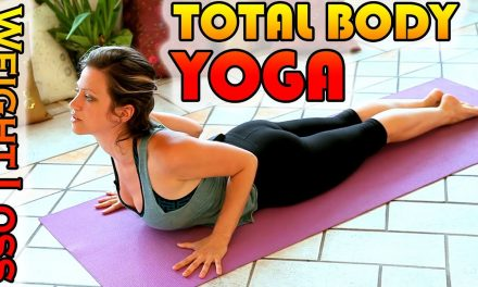 Weight Loss Yoga Workout For Beginners, 15 Minute Total Body Stretch Workout Yoga Class