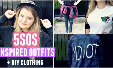 5SOS Inspired Outfits (+DIY Clothing) | Beth Beswick