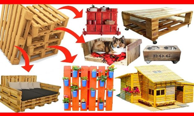 200 DIY Ideas recycling reuse pallet recycled wooden pallet recycling furniture desk garden projects