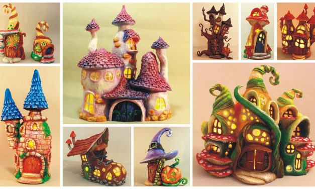 ❣10 DIY Fairy Houses Using Plastic Bottles❣