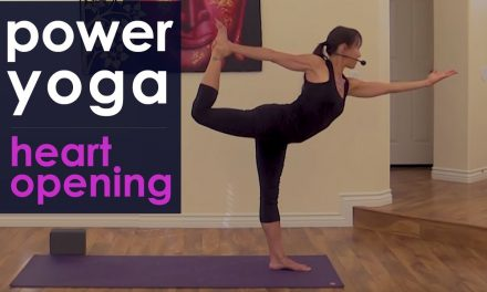 Power Yoga Workout ~ Heart Opening Flow