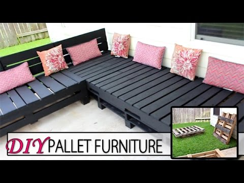 DIY Pallet Furniture – Patio Sectional