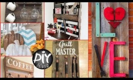 DIY Pallet Crafts To Make And Sell  – 35 Easy Wood  Pallet Projects