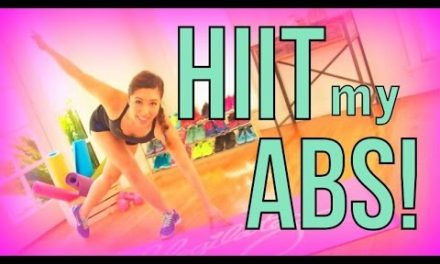 HIIT My Abs HARD!!! Fat burning Ab Workout