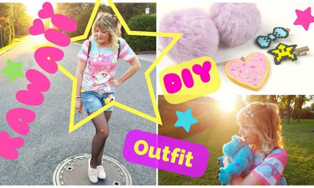 🎀KAWAII Transformation + DIY accessories!-New Glasses + Giveaway!