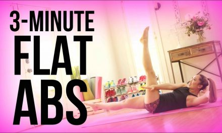 How to get Flat Abs in 3 minutes!