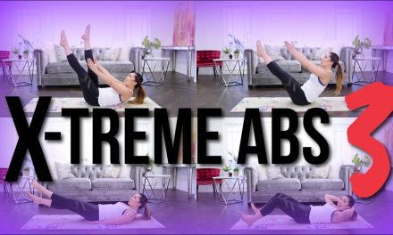 EXTREME ABS 3! Intense at-home ab workout for flat abs!