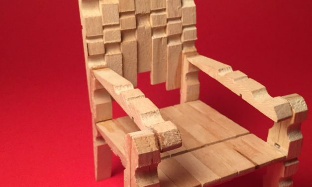 How To Make a Stylish Mini Clothespins Chair – DIY Crafts Tutorial – Guidecentral