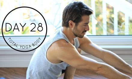 DAY 28 Total Yoga Body Stretch – Restorative Hip & Psoas Openers w/ Supported Bridge