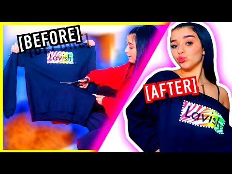 DIY IDEAS FOR YOUR OLD CLOTHES! How To Look Hot  *dress like me