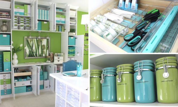 DIY Room Organization and Storage Ideas   How to Organize &  Clean Your Craft Room or Work Room