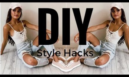 TRENDY 2017 Fashion Hacks | DIY  Clothes, Nails, Jewelry, & More!