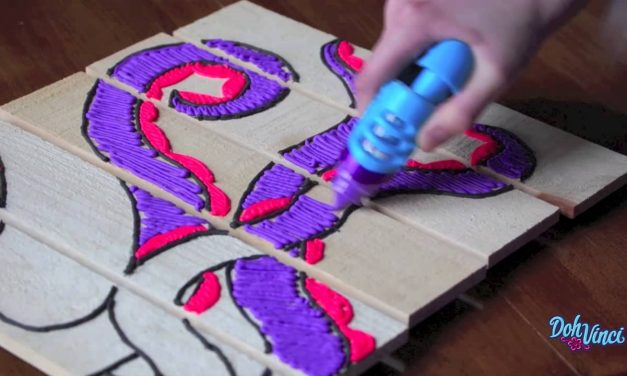 Wood DIY Projects for Kids (Arts & Crafts) | DohVinci toys by the makers of Play-Doh brand