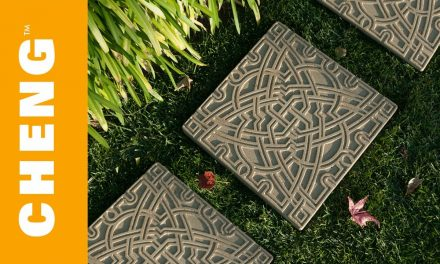 Make DIY Garden Stepping Stones with CHENG Outdoor Concrete Mix