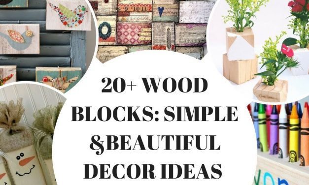 TOP 20 Cute Wood Block Crafts
