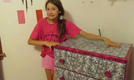 East DIY Project – Duck Tape a dresser – Duct Tape