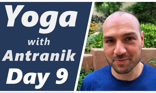 Day 9 🌵 Cactus 🌵Arms 💪 – Yoga with Antranik