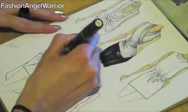 Fashion Sketching 101- How to become a fashion designer